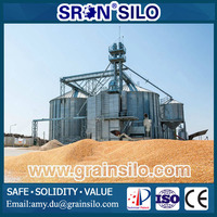 Customized Steel Grain Silo For Sale, We Provide Turn-Key Silo System Solutions