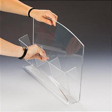 Manufacture's direct sales transparent cast acrylic sheet for curved clear acrylic holder