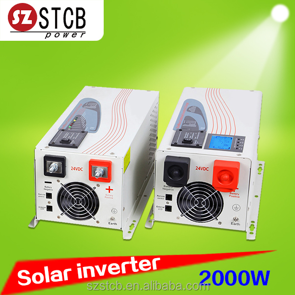 home solar systems dc 24v to ac 220v 3kw inverter