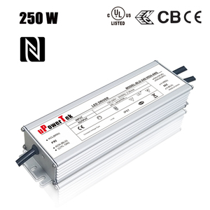 250W NFC cellphone programmable IP67 waterproof 3 in 1 dimming UL ENEC CB CE LED power supply for highbay