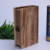 antique book shape storage box,wooden gift packing box