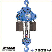 LIFTKING 10 ton lifting tool single/dual speed hook suspension electric chain hoists