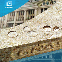 WB5035 spray polyurea waterproof coating with marble decoration