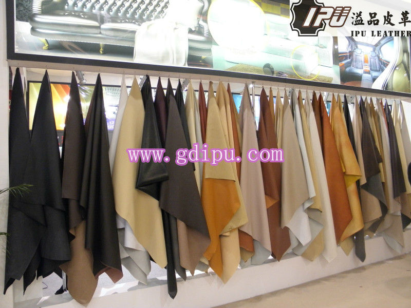 Hot Sell Microfiber PU leather/Stretch Microfibre leather Material