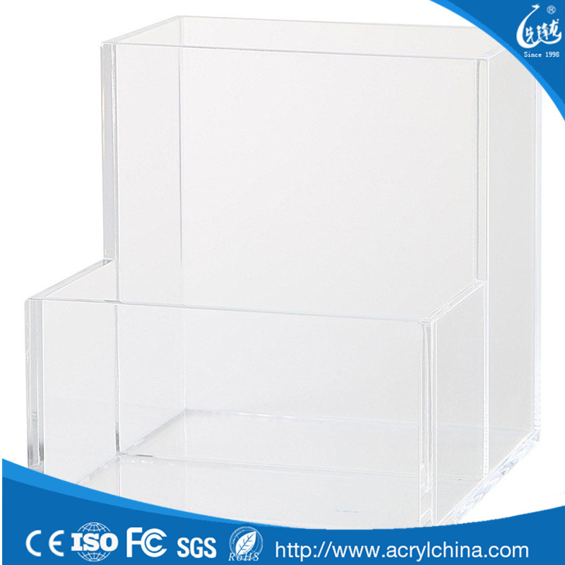Crystal clear Factory direct sale acrylic pen display case from china shenzhen