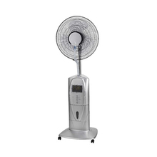 16inch portable fan mist sprayer stand fan with mosquite repellent