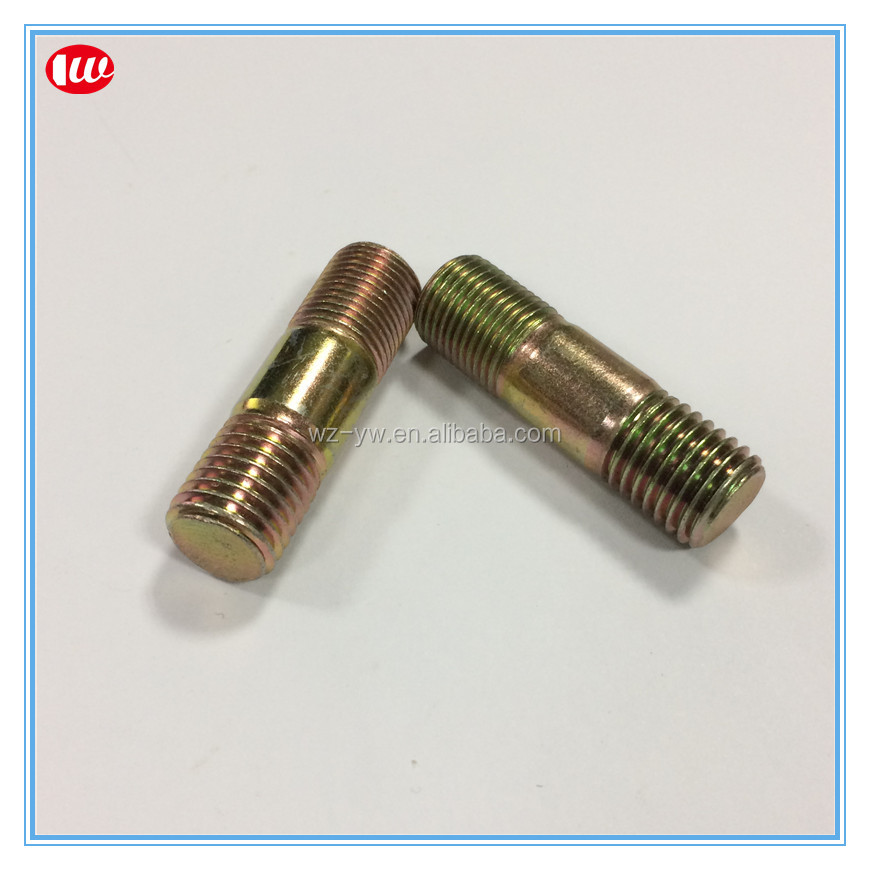 zinc plated stud connecting bolt