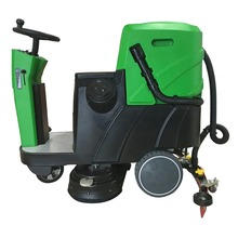 MLEE-740SS Ground Support Equipment Automatic Driving Washing Machine Battery Power Operated Floor Cleaning Machine Machinery