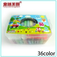 Non-toxic 36 color super light weight clay for kids play