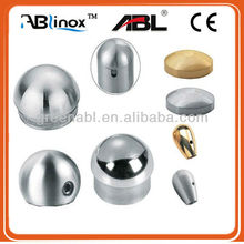 stainless railing fittings end cap