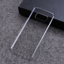 simple clear hard PC transparent protective cover for samsung galaxy s8 mobile phone case
