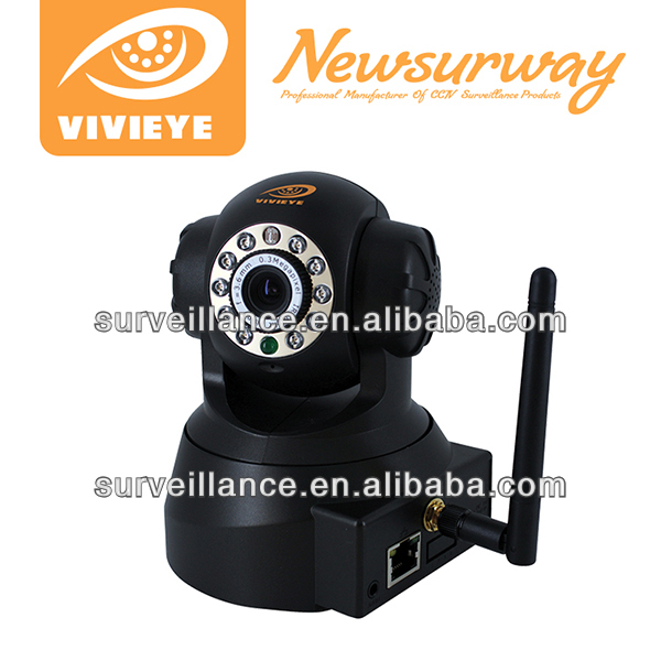 "P2P IP WIFI PTZ IP Camera 1/4"" color CMOS sensor P2P economic ip security camera"