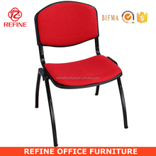 modern plastic stacking chair with cushion RF-T076F