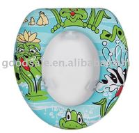 Baby design toilet lid cover soft pvc