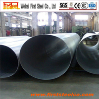 material construction gold price 200mm diameter mild steel pipe mill test certificate steel pipe