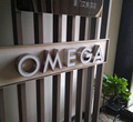 High quanlity #316 3d stainless steel import acrylic LED channel letters sign