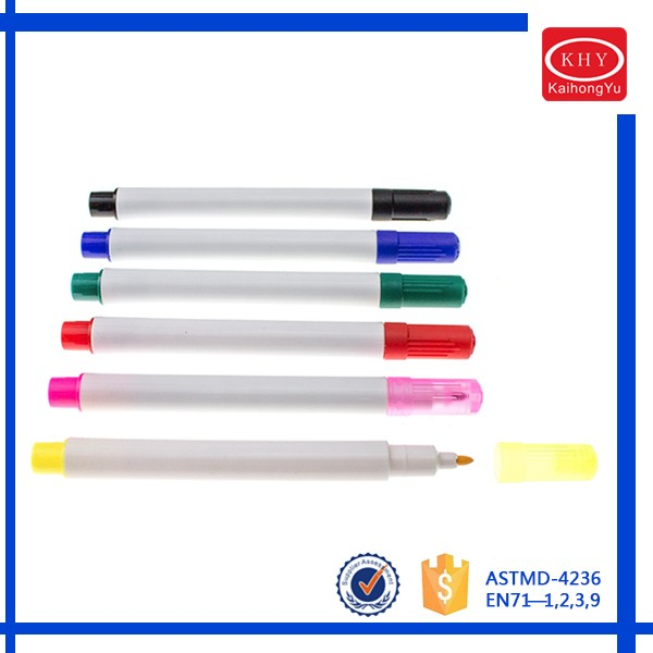 Mini barrel colored ink whiteboard medium erasable alcohol marker