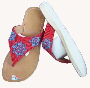 Bali Artistic Beaded Slipper