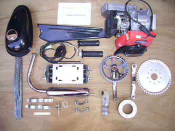 Petrol Mopeds Bicycle Engine Kit 4 Stroke