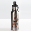 sublimation custom logo stainless steel sports water bottle