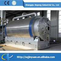 Waste Gas Purifying System Recycling Scrap Tyre To Fuel Oil Pyrolysis Plant