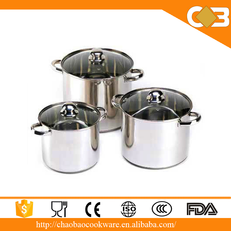 555 stainless steel stock pot