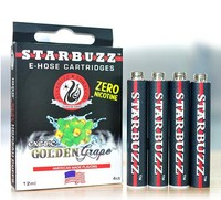 14 Flavors Starbuzz E Hose Cartridge with Retail packing fit for big E-HOSE and mini E-HOSE hookah shisha