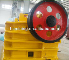 ISO9001 quality approval HC jaw crusher/mini stone crusher