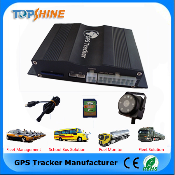 Cutting Engine Mini GPS Avl Tracker for Cars with Free Web Based Software/Camera/OBD2/RFID/Fuel Sensor VT1000