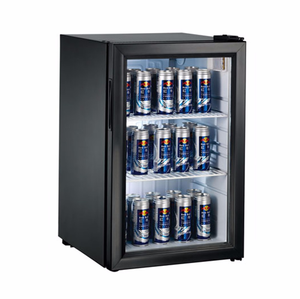 Single Glass Door Monster Energy Drink Can Mini Fridge For