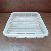 Disposable food plastic tray
