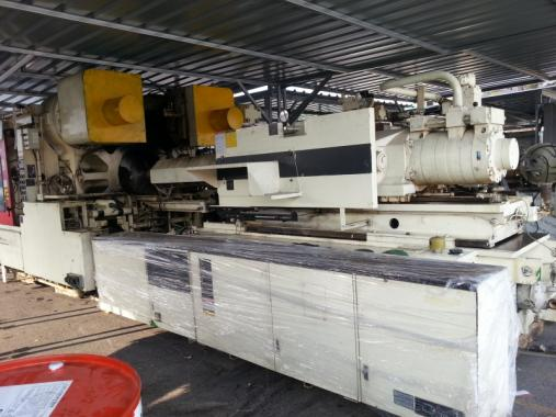 used machine tools , Mitsubishi 1300ton injection molding machine