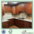 solid wood kitchen cabinets with Roman column