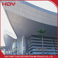 100 Recycle Office Aluminium Exterior Curtain