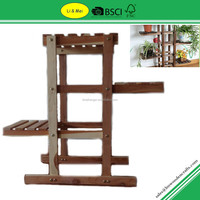 LMC503 2015 New Design Cedar Wooden 3 Tiers Flower Pot Racks