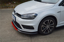 SD Style Carbon Fiber Front Spoiler for VW MK7 R-line golf VII R-line 2014up