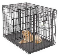 New design welded wire mesh dog cage large steel dog cage