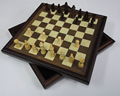 Wooden toys/12 inch deluxe chess set