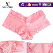 Factory Price Fashionable V Shape Underwear With Lace