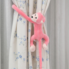 Plush curtain clasps holders monkey tieback for curtain Accessory