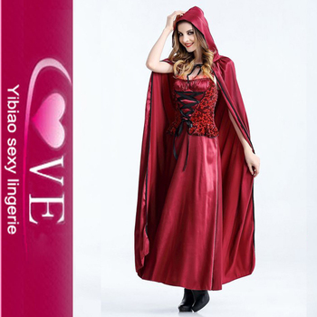 Glamorous Sexy Halloween Cape Red Riding Hood Costume