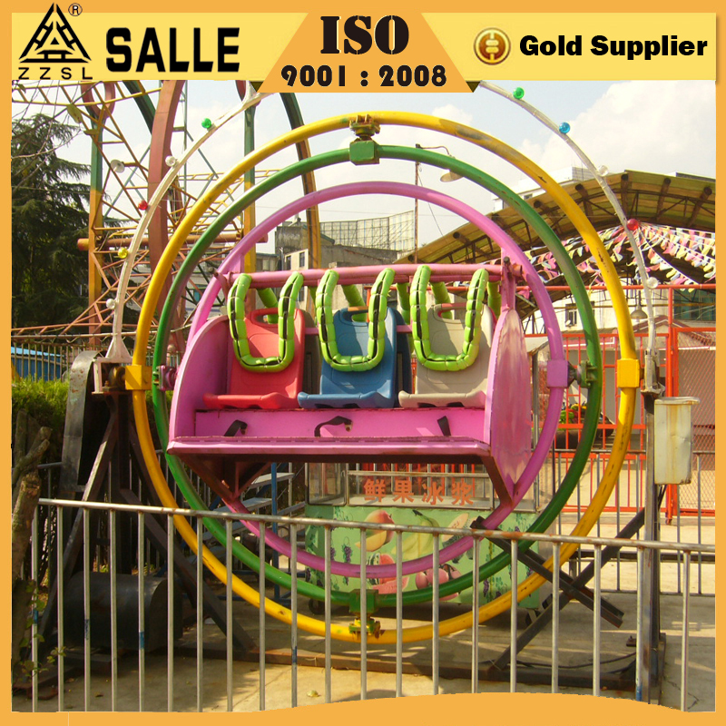 2016 new fun park facility rotation rides 4 seats human gyroscope, outdoor human gyroscope for sale
