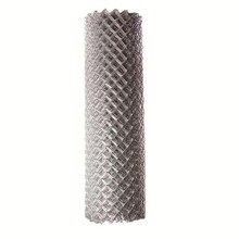 wire roll pvc chain link mesh fence for sale