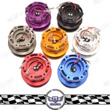 New Arrival 2016 Steering Wheel Quick Release Hub ,63mm Blue Aluminum quick release coupling