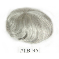 100% human hair from factory directly men's wigs real hair wigs