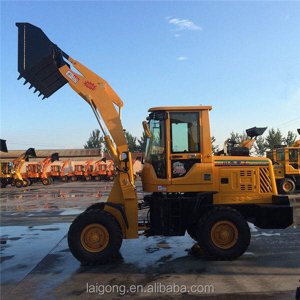 cargo loader nylon roller Laigong mini front end loader for sale