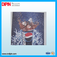 one way vision printable perforated film for outdoor advertising