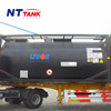 Top quality liquid portable transport stainless steel bitumen tank
