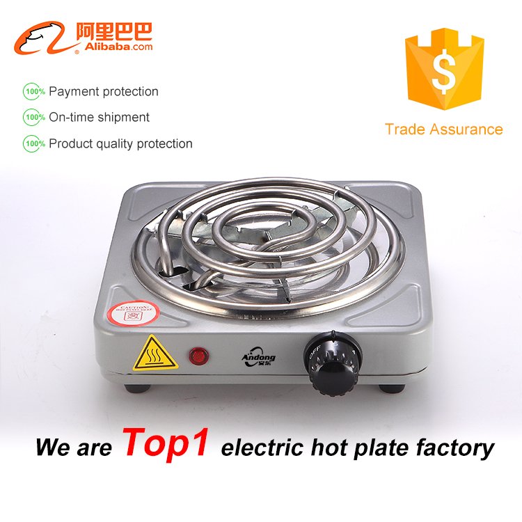 High quality electric coil hot plate with CE for cooking or gift china products