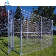 Reasonable price Professional factory used double chain link fence dog kennel panels factory